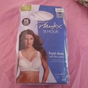 Playtex 46C Front Close Bra
